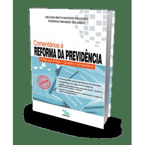 Comentários à Reforma da Previdência (2020)