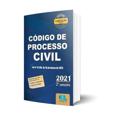 Codigo-De-Processo-Civil-2021---Legislacao-Seca---2º-Semestre--2021-