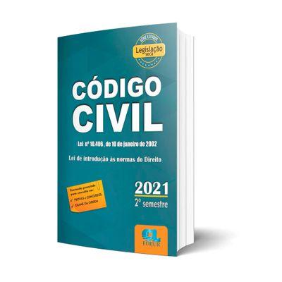 Codigo-Civil-2021---Legislacao-Seca---2º-Semestre--2021-